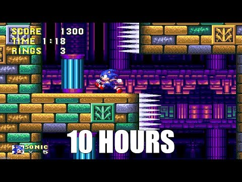 Sonic 3 - Hydrocity Zone Act 2 Extended (10 Hours)