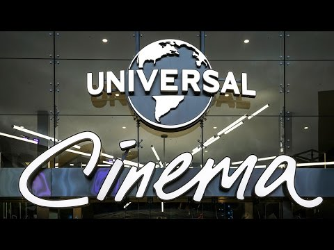 Universal Cinema - The Ultimate Movie Theater Experience Now Open at Universal CityWalk Hollywood