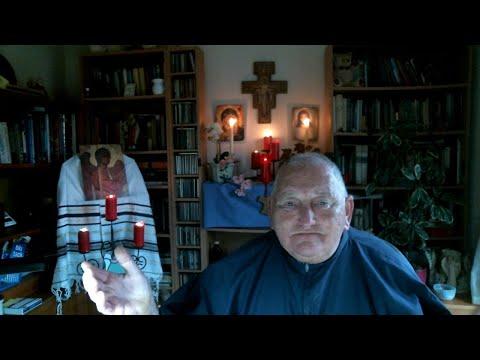Feb: 19th Tuesday:  Br Sean Dedicates Morning Prayers 4 Franciscan Brothers Andy and Kevin (UK)