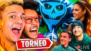 ¡AMPETER EN EL TORNEO DE YOUTUBERS DE FORTNITE!! #LeyendasDeFortnite