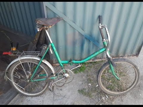 Реставрация велосипеда АИСТ
