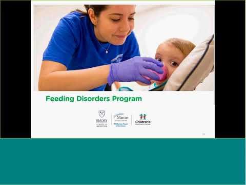 """9/27/17 Pediatric Research Grand Rounds: """"Treatment of Severe Feeding Aversion"""
