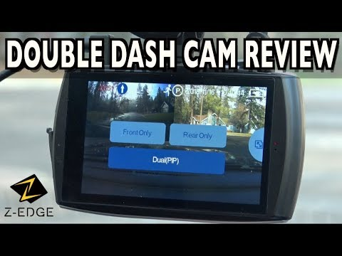Z Edge T4 Double Dash Cam Demo Review On Everyman Driver Youtube