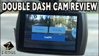 Z-Edge T4 Double Dash Cam Demo & Review on Everyman Driver