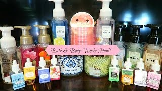 Bath & Body Works Candle, Hand Soap & Wallflower haul! Spring/Summer 2017
