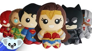 JUSTICE LEAGUE CAKES | Batman, Wonder Woman, Superman, Flash, Cyborg & Aquaman