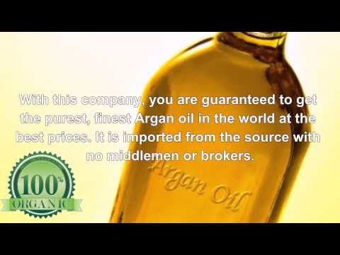 Best 100% Pure Moroccan Organic Argan Oil