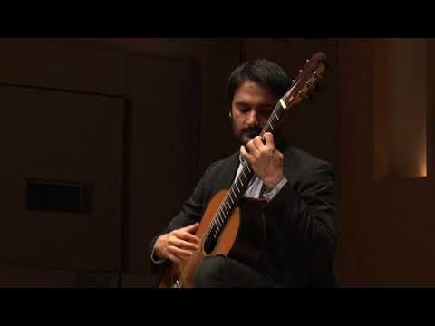 """62nd Tokyo Guitar Competition 2019 - Carlo Curatolo plays Barrios """"Un sueño en la floresta"""""""