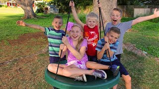 Giant Spinning Swing - Holds 650 Pounds!