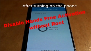 how to Disable Hands Free Activation WITHOUT root _ Nougat Stock for N920P _ up_Dr.NHTT