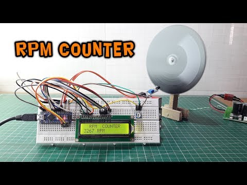 Arduino RPM Counter | Speed Counter