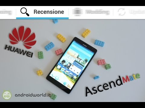 Huawei Ascend Mate, recensione in italiano by AndroidWorld.it