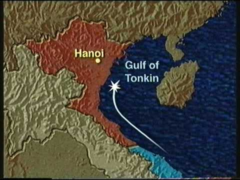 Image result for congress passed the gulf of tonkin resolution by a very narrow margin