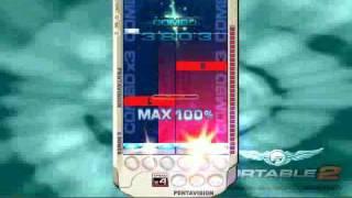 DJMax Portable 2 Hello Pinky 8B Hard Style lvl 11 Speed 4