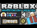 Roblox Just Announced All These Updates! 3D Clothing/Animated Faces/Voice Chat!