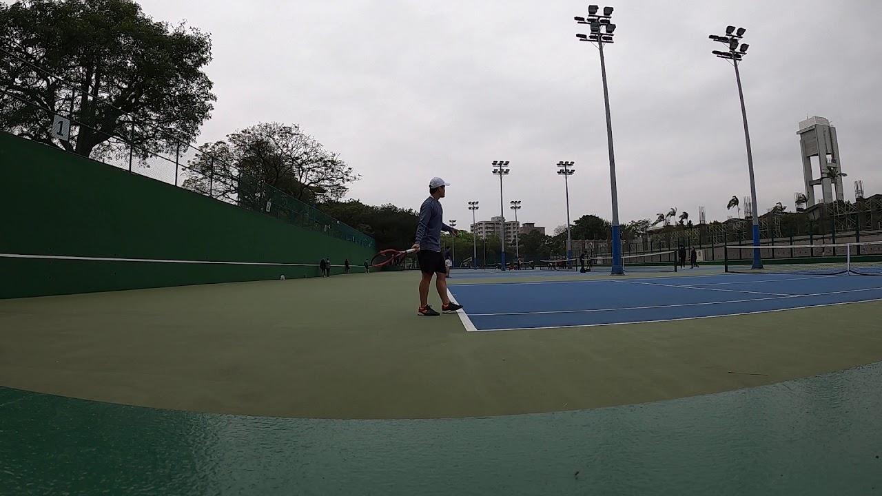 網球抽球練習Day1-2 - YouTube