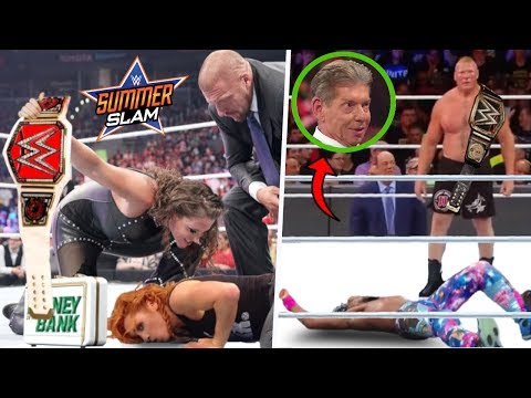 Shocking LEAKED Backstage WWE RUMORS And SCENARIOS Vince Plans For Rest Of 2019 After WrestleMania! thumbnail