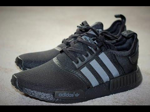 adidas nmd triple black 44