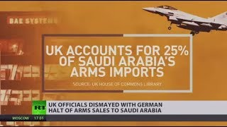 UK arms sales to Saudi Arabia in doubt over German ban on parts