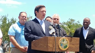 Florida Gov. Ron DeSantis pledges support for Keys recovery