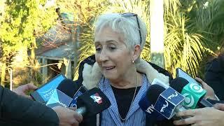 Graciela Villar visitó al expresidente José Mujica en su chacra de Rincón del Cerro