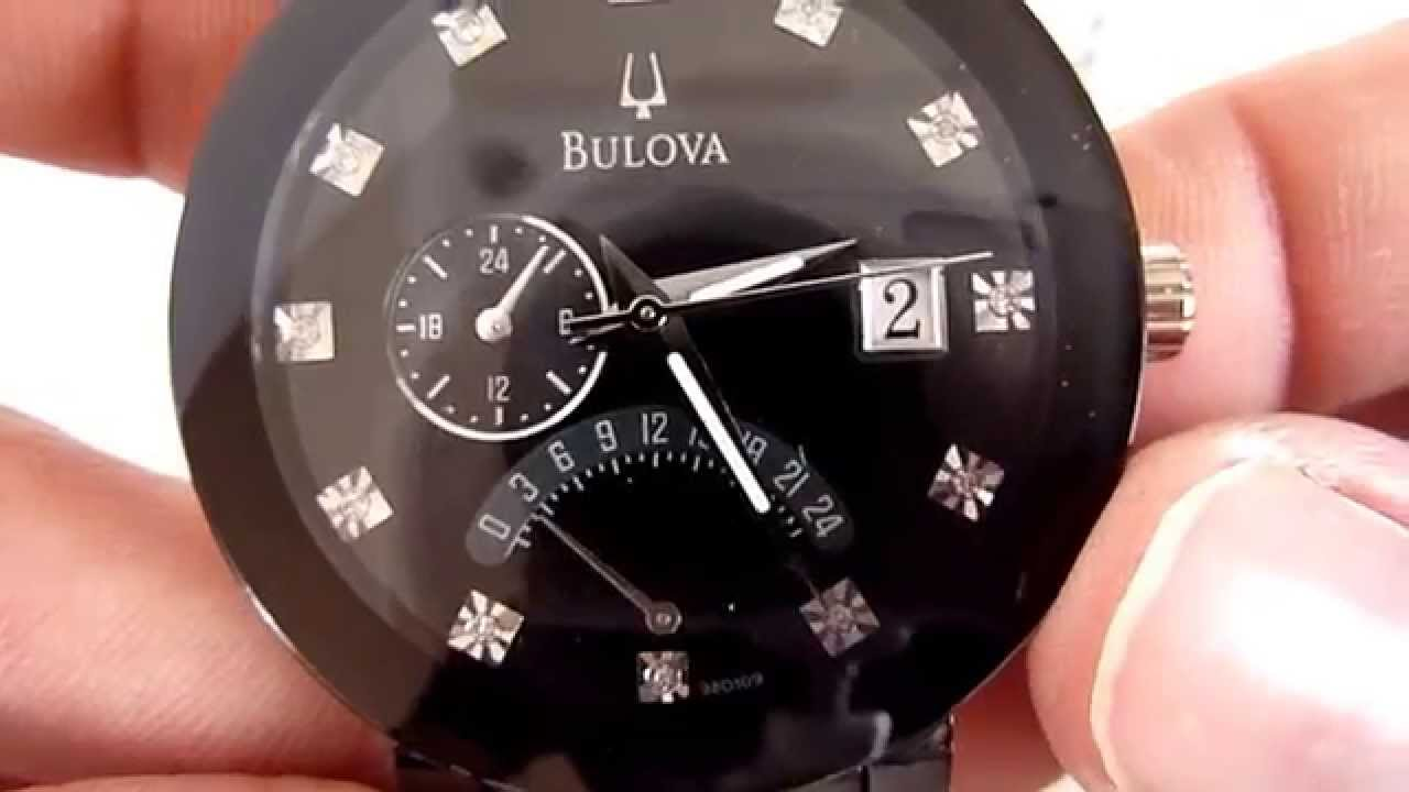 2e3173bdc635 Reloj Bulova Diamonds Modelo 98d109 - YouTube