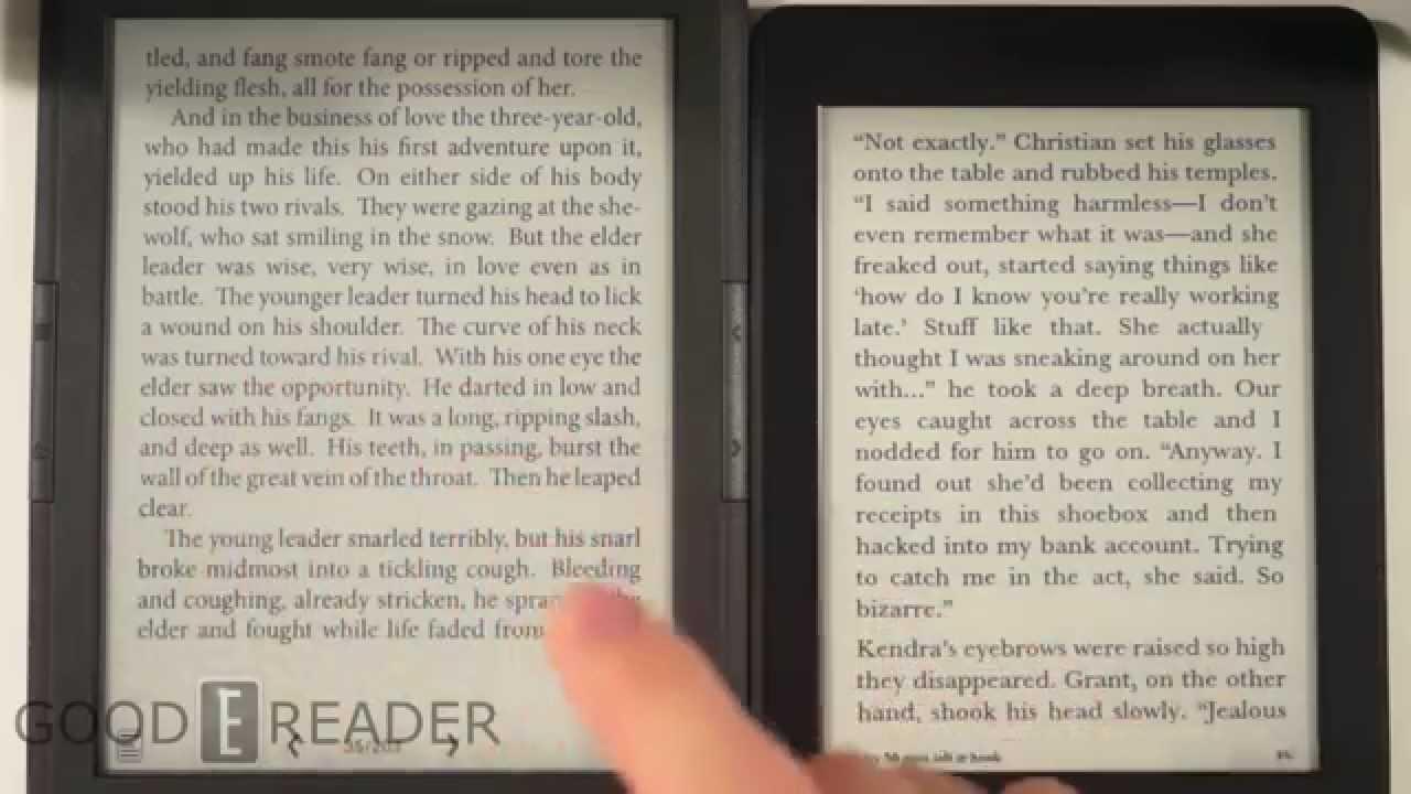 Onyx Boox Lynx T68 vs Kindle Paperwhite 2