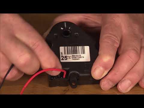 HVAC Actuator Reset | ACDelco TechConnect