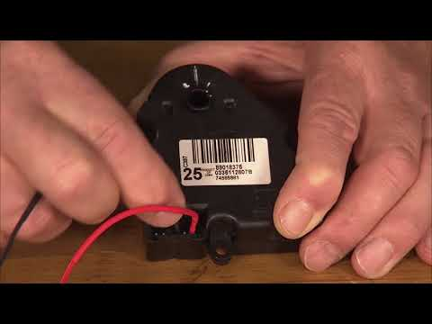 HVAC Actuator Reset | ACDelco TechConnect