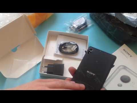 Sony Xperia Z3супер c Aliexpress 199$. Посылка №194. Часть 1.