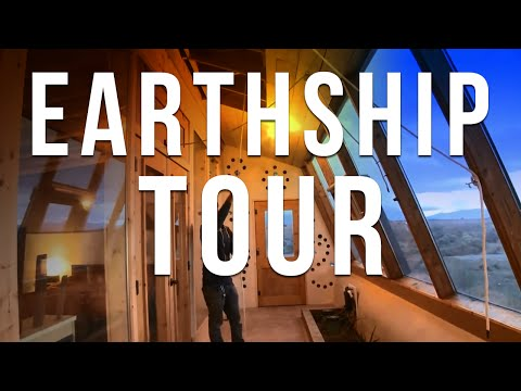 Earthship Tour & Instructions