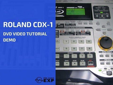 Roland cdx-1 disclab emusician.