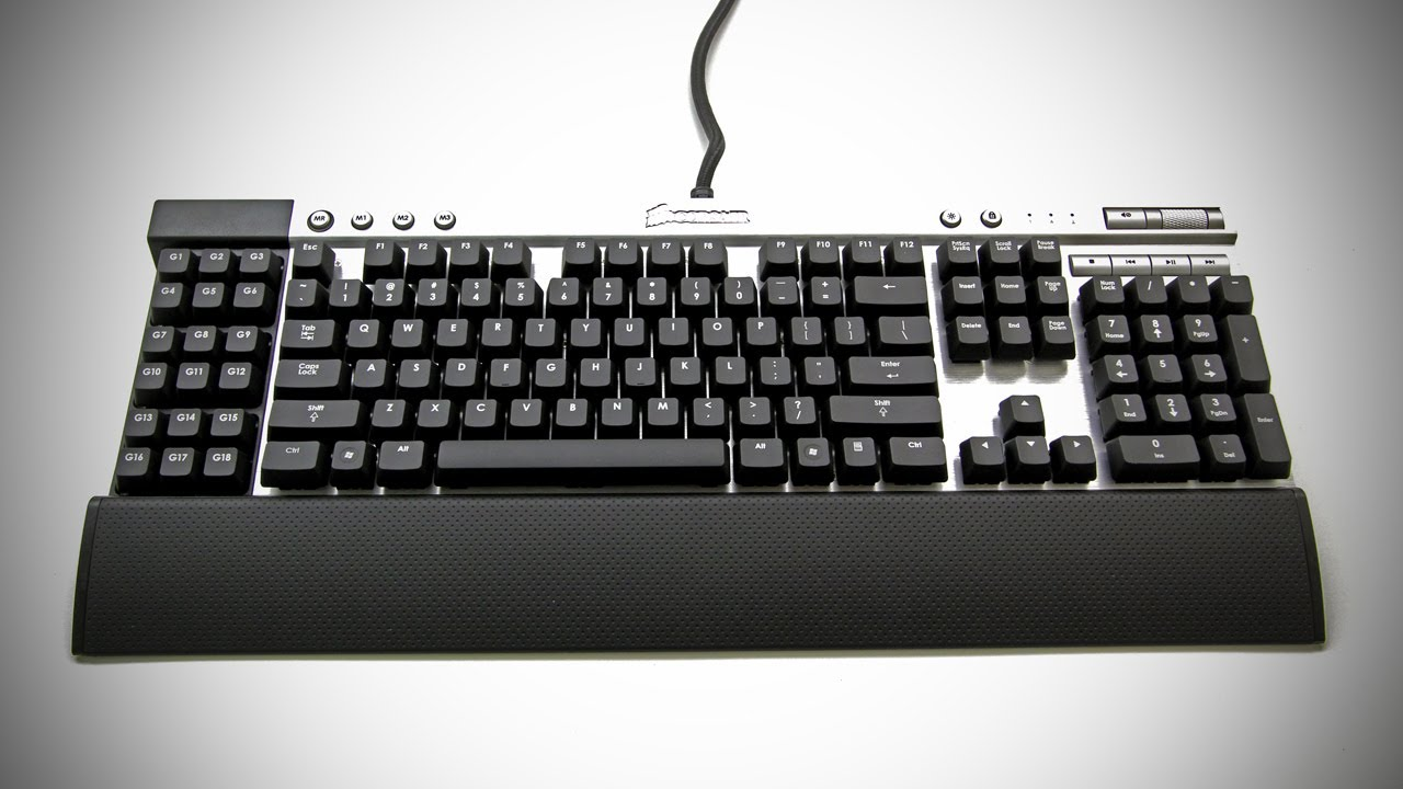 ecce6cae0e0 Corsair Vengeance K90 Unboxing (Mechanical Gaming Keyboard - UGPC 2012) -  YouTube