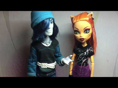Новенький и новенькая / stop Motion monster High