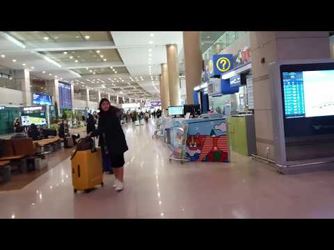 Seoul South Korea-Airport Arrival | Cabin Crew | Mamta Sachdeva | Airports around the world |