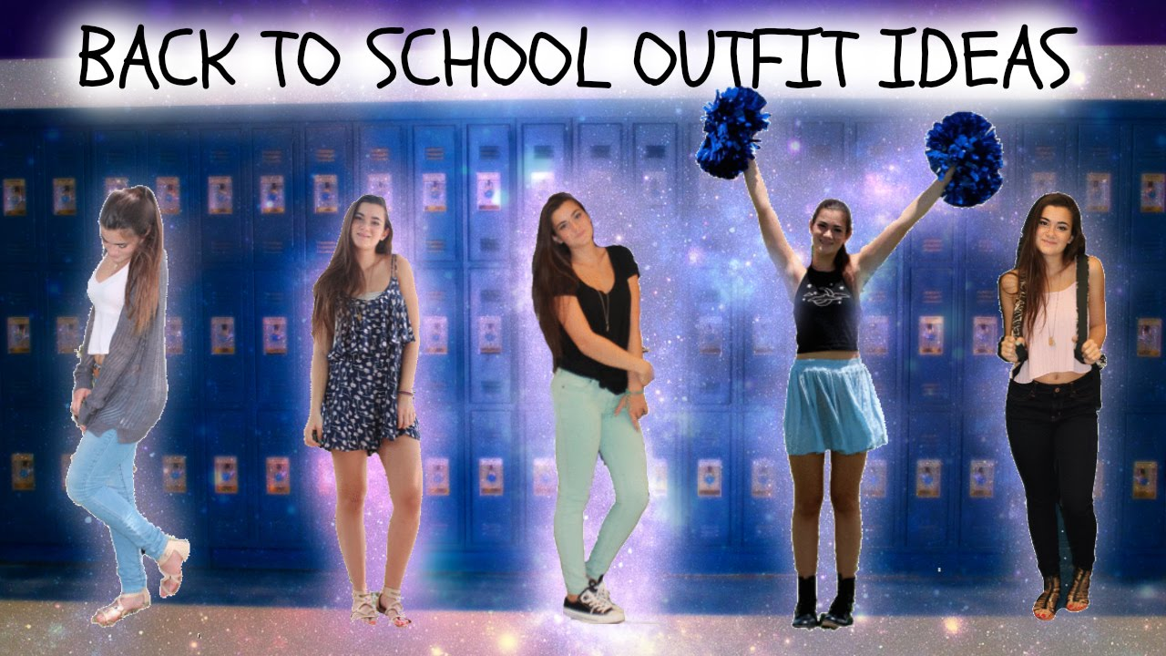Back To School Outfit Ideas Youtube