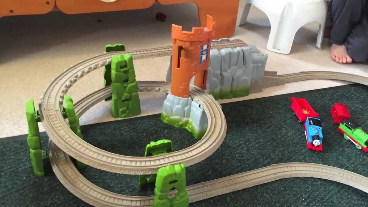 Thomas And Friends Trackmaster Castle Quest Set Youtube
