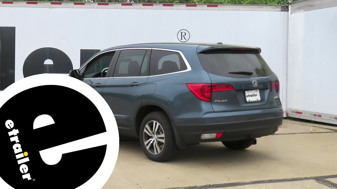 Trailer Hitch Installation 2017 Honda Pilot Curt