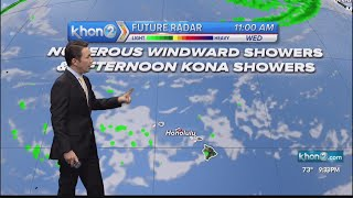 Justin Cruz's Weather Forecast 3-1-21 screenshot 2