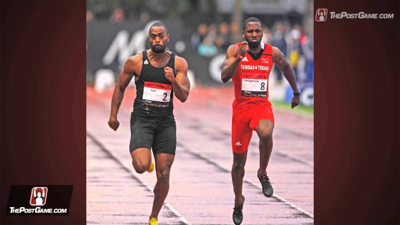Tyson gay vs usain boulon