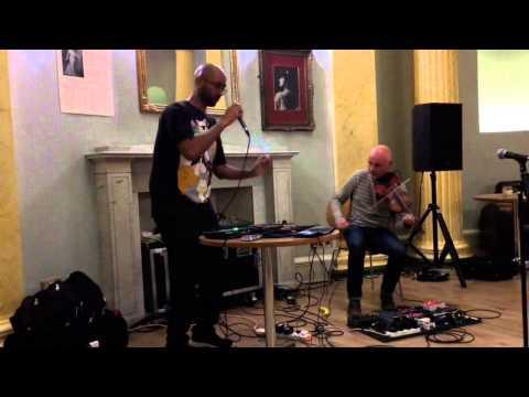 Jason Singh & Aidan O'Rourke - Musicians Connect Project June 2015 (Aberdeen, Scotland)
