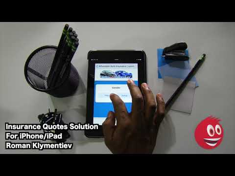 Insurance Quotes Solution iPhone/iPad App Review   GiveMeApps