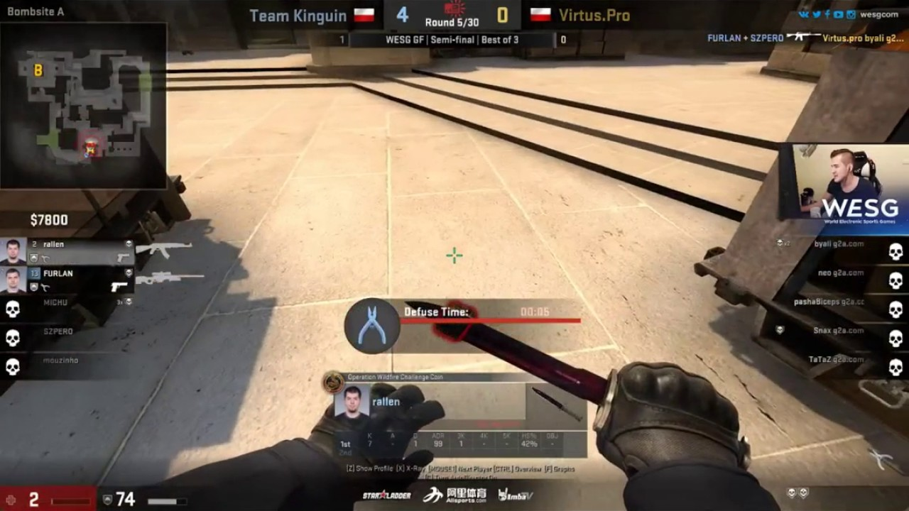 Virtus Pro Vs Kinguin