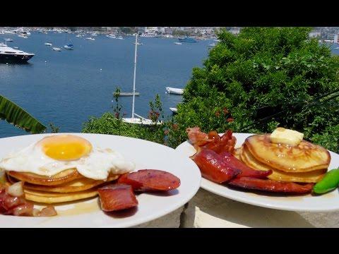 HOT CAKES CASEROS  (Desayuno)