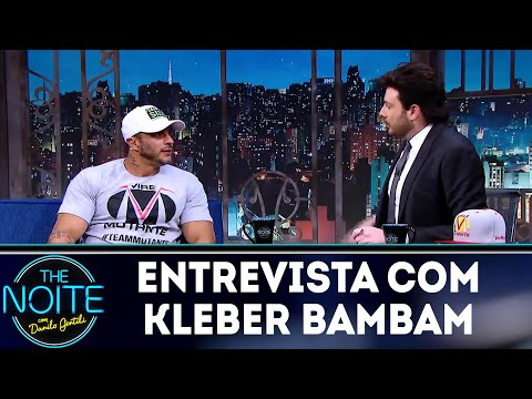 Entrevista com kleber Bambam  The Noite 081018