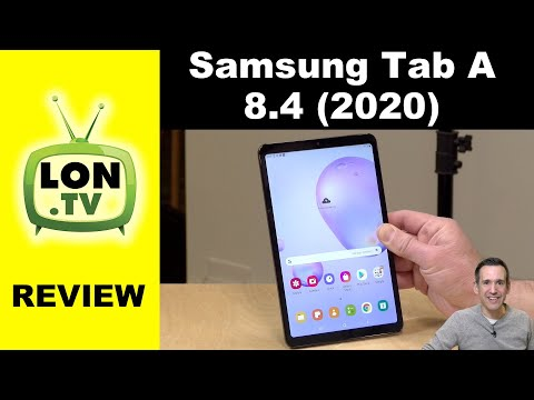 "Samsung Galaxy Tab A 8.4"" 2020 Review"