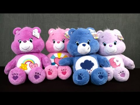 Message Recorder Stuffed Animals, Care Bears Large Plush From Just Play Youtube