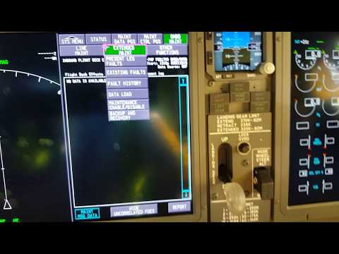 BOEING B737 MAX CFM LEAP-1 ONBOARD MAINTENANCE SYSTEM PART 2