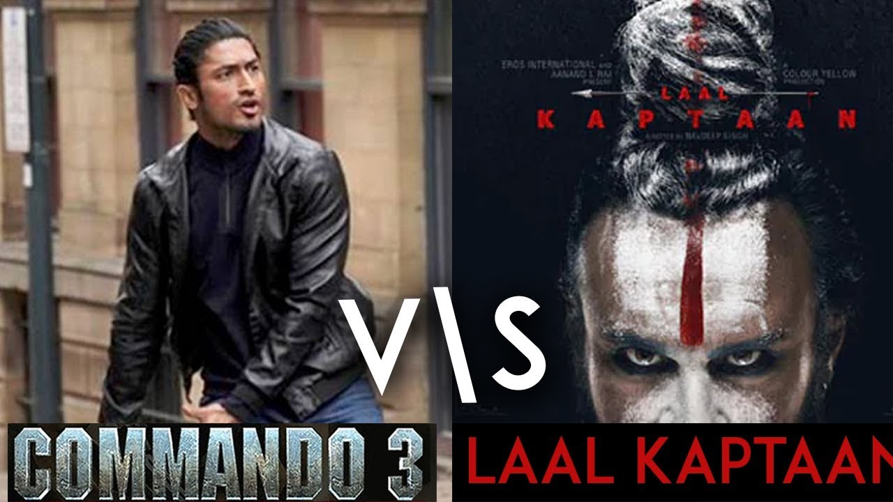 Image result for laal kaptaan vs commando 3