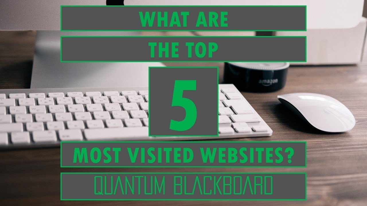 Top 5 most visited sites for students